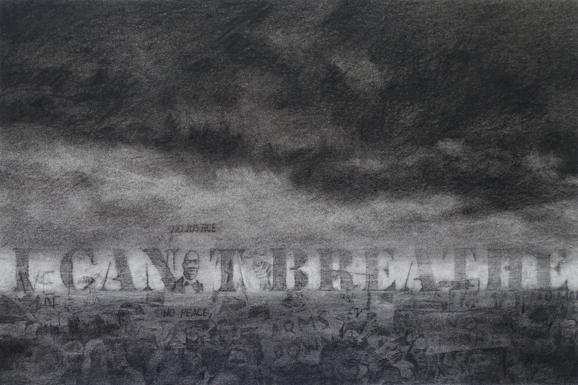 Artwork: I Can't Breathe - George Floyd - Black Lives Matter