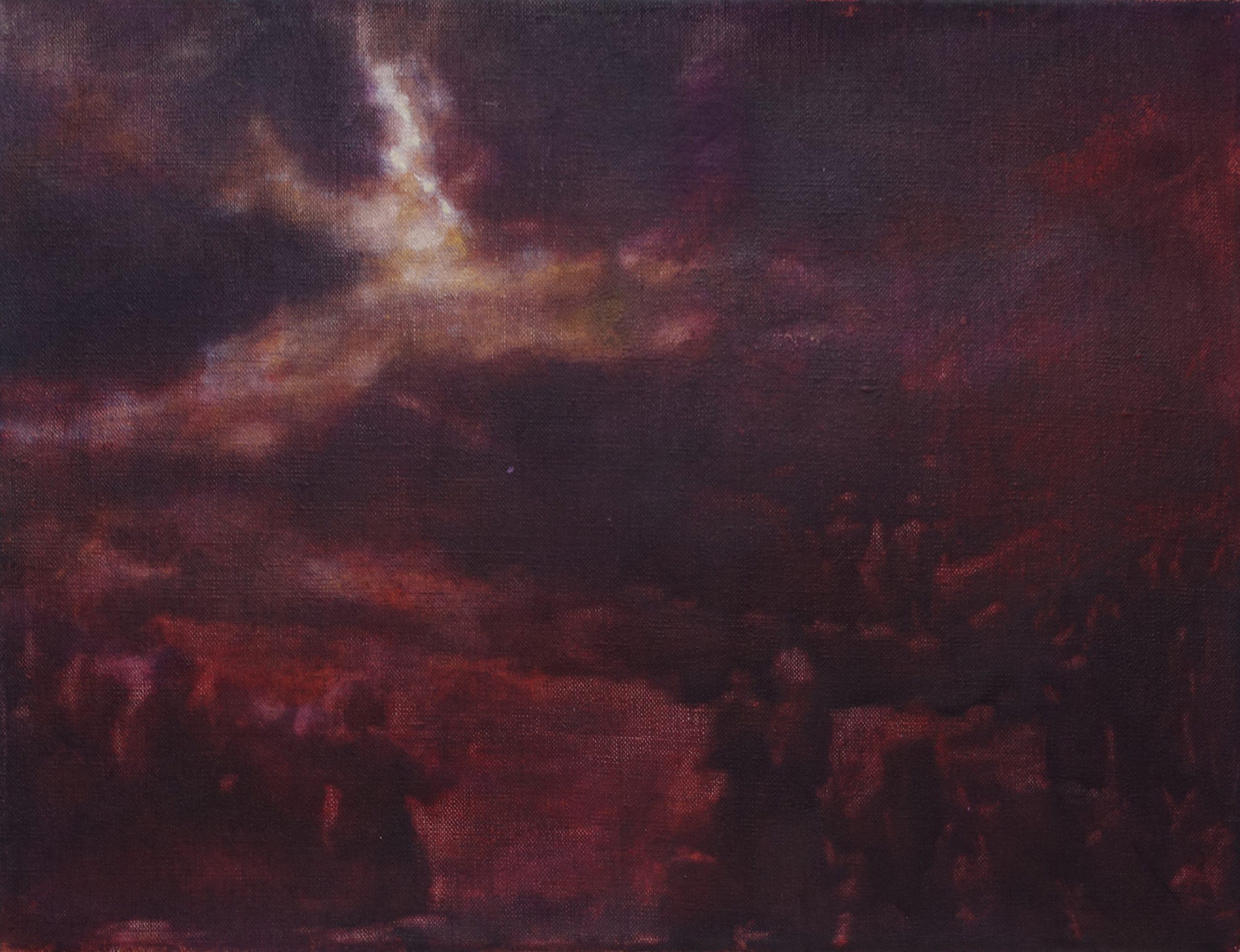 Hopeful - oil on canvas - Luc Cappaert - 2021